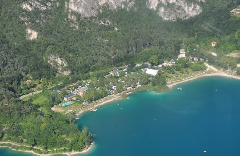Motorbike Campsite on Lake Ledro