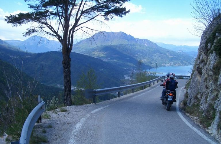 Italy by motorbike