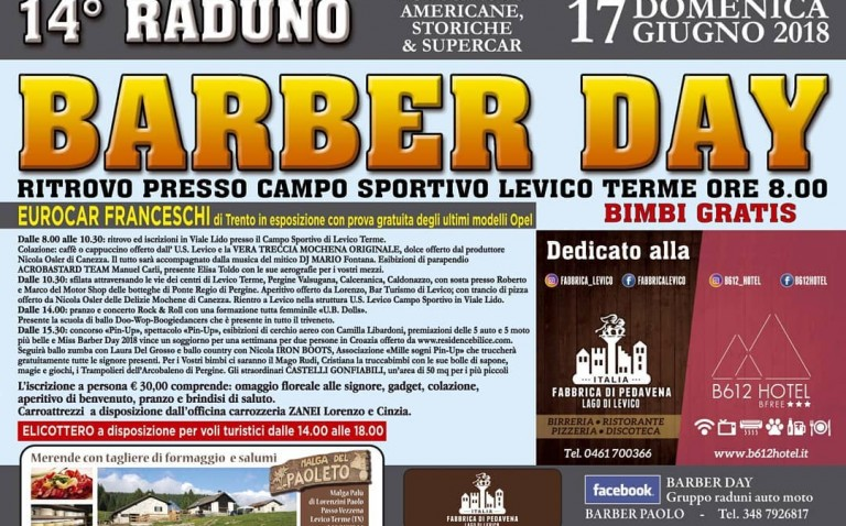 Raduno Barber Day