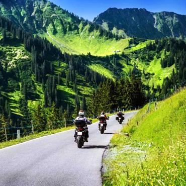 Sonderangebote für Ihren Motorrad-Urlaub im Trentino, Sommer